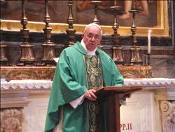 Não se pode ser cristão sem o amor de Cristo, lembra Papa