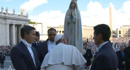 Papa Francisco destaca três elementos da fé da Virgem Maria