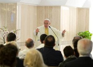 """""""A ideologia afasta as pessoas da Igreja"""" – afirma o Papa Francisco"""