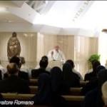 Pecadores, sim. Corruptos, não! A missa na Casa Santa Marta