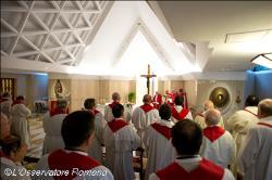 No Templo o que mais importa não são os ritos, mas adorar o Senhor
