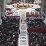 Papa no Te Deum pelo ano de 2013