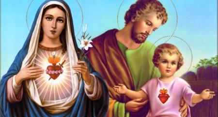 Festa da Sagrada Família. Jesus, Maria e Jose - Domingo 29/12/13