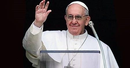 Papa Francisco no Angelus do dia 1º de Janeiro.
