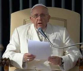 Papa fala da relação da Eucaristia com a vida