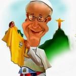 Exposição reúne cartoons de Papa Francisco no MASP/SP