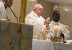 Papa fala de comportamentos que comunidade cristã deve ter