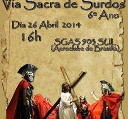 Igreja de Brasília realiza a 6º edição da Via Sacra dos Surdos