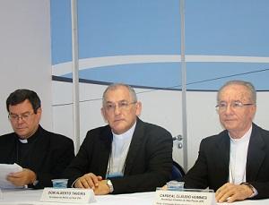 Missão na Amazônia e protagonismo dos leigos são temas da coletiva