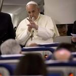 No avião, Papa ressalta momentos marcantes da viagem à Terra Santa