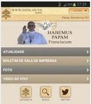 Vaticano lança novo aplicativo para aparelhos móveis