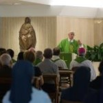 "Papa na missa matutina: ""Única saída para os corruptos é o arrependimento"""