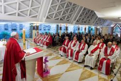 Há mais cristãos perseguidos hoje do que nos primeiros séculos – o Papa na Missa em Santa Marta