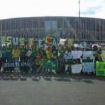 Mais de 2 mil jovens católicos do Brasil em missão evangelizadora na Copa