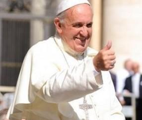 O Papa Francisco concede entrevista ao jornal italiano Il Messagero