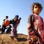 """A intenção universal: """"Para que os refugiados, obrigados a abandonar suas casas por causa da violência…"""
