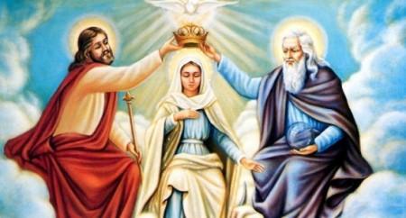 Mãe de Deus, Nossa Senhora Rainha dos Anjos, dos Santos e dos Homens