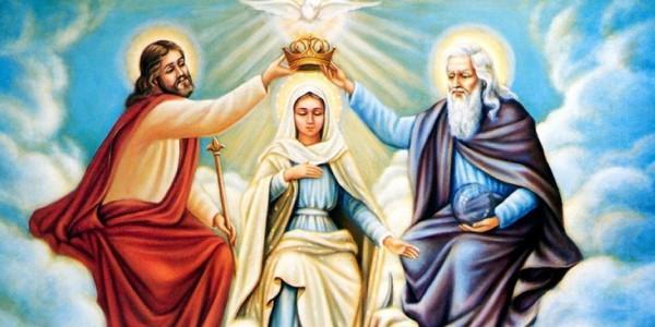 Suficiente Mãe de Deus, Nossa Senhora Rainha dos Anjos, dos Santos e dos  ZJ53
