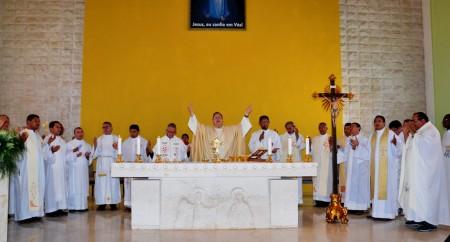 Clero de Parnaíba celebra no Santuário de Fátima na Romaria da Família