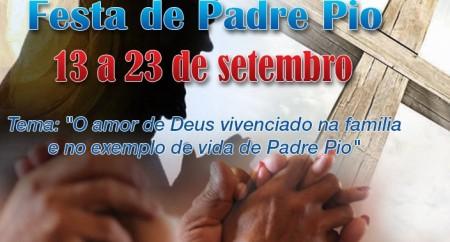 Festa de São Pio de Pietrelcina 2014
