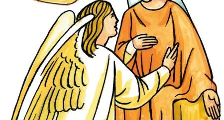 """""""Eis aqui a serva do Senhor; faça-se em mim segundo a tua palavra!"""""""