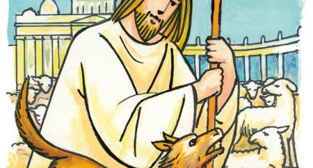 """""""O bom pastor dá a vida por suas ovelhas"""""""