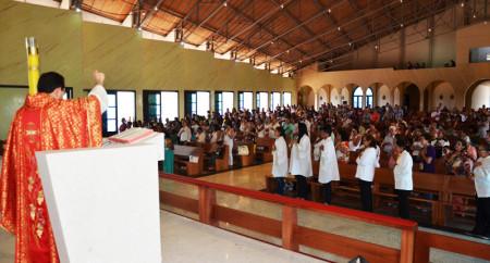 Pentecostes no Santuário de Fátima