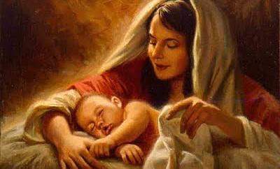 """""""A Virgem Maria, fonte de salvação""""."""