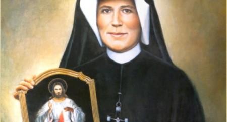 Dia 05 de Outubro dia de Santa Faustina Kowalska