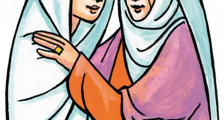 """""""Bendita és tu entre as mulheres e bendito é o fruto do teu ventre!"""