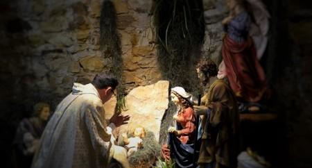 A mistica da noite de Natal no Santuário