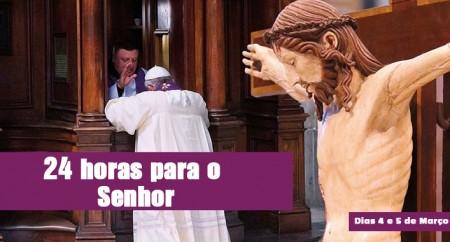 Jornada '24 horas para o Senhor' é convite à oração
