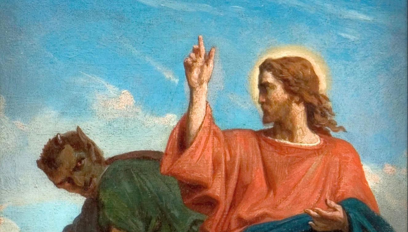 Resultado de imagem para Não tentarás o Senhor teu Deus'