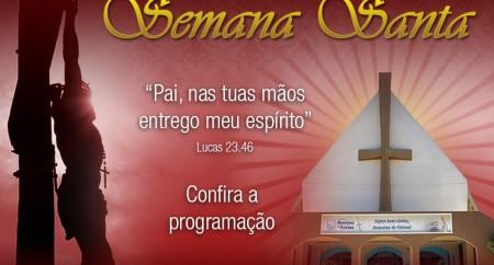 Semana Santa no Santuário de Fátima - Programação