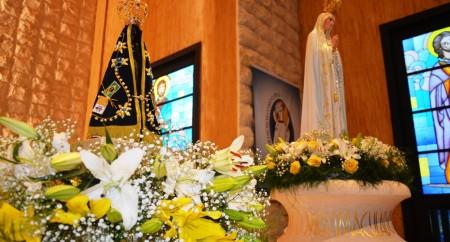 Santuário de Fátima e Santuário de Aparecida, um encontro regado pela misericórdia!