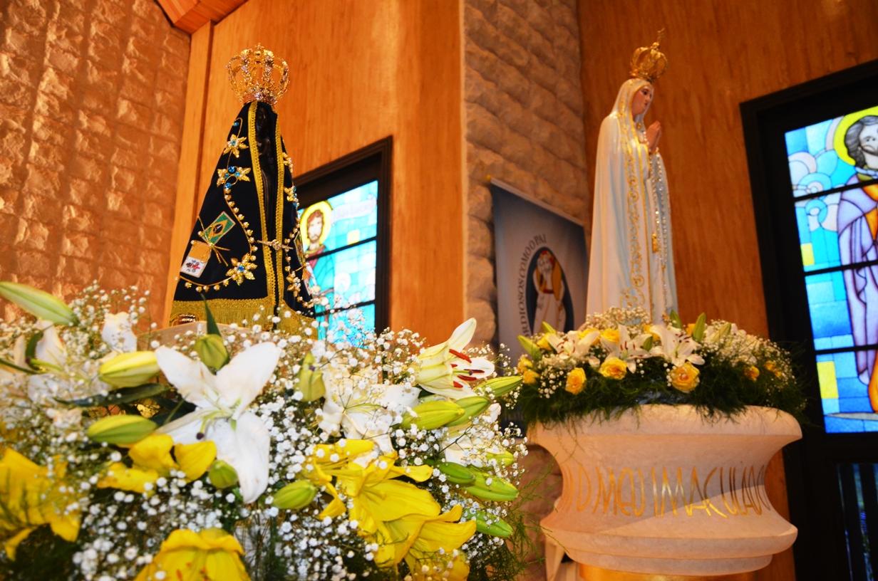 Santo Nosso Fotos Nossa Senhora Aparecida: Santuário De Fátima E Santuário De Aparecida, Um Encontro