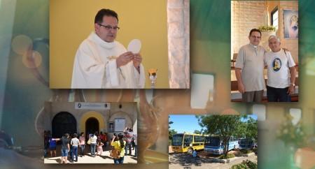 Santuário de Fátima recebe cinco romarias na manhã deste sábado dia 30