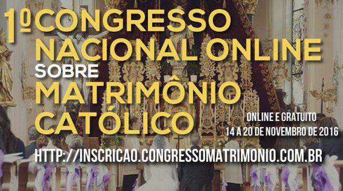 Matrimonio Catolico Homilia : Santificação das famílias será tema de congresso online