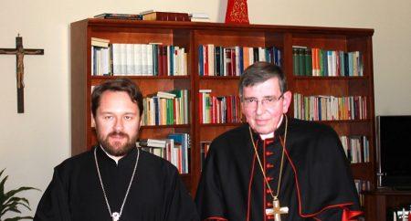 Relações católico-ortodoxas no encontro entre Koch e Hilarion