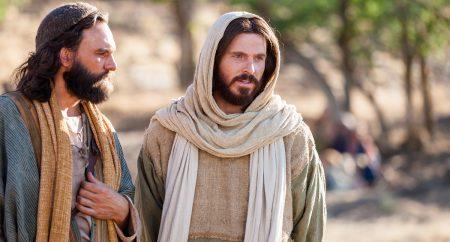 """Levanta-te e vai! Tua fé te salvou""."
