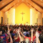 Chuva do Espírito Santo no Santuário de Fátima