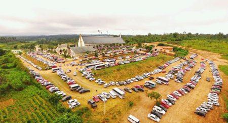 Treze de maio no Santuário de Fátima da Serra Grande