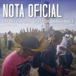 CNBB emite nota em defesa dos direitos indígenas e do Cimi