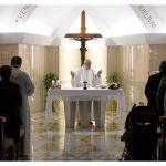 Papa: intuição cristã e oração pelos corruptos