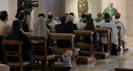 Papa: o reino de Deus cresce dentro de nós, não é carnaval