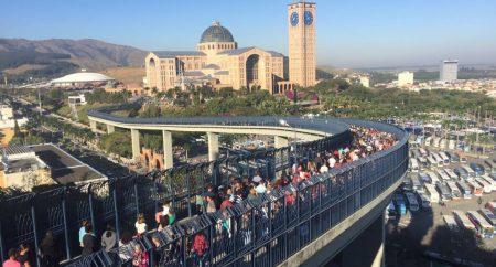Santuário Nacional alcança marca de 13 milhões de visitantes em 2017