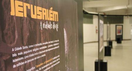 Santuário de Aparecida recebe exposição sobre Jerusalém