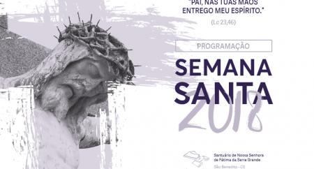 Programação Semana Santa 2018