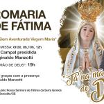 Romaria de Fátima – 13 de dezembro