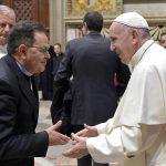 Reitor do Santuário de Fátima participa de encontro com o Papa Francisco